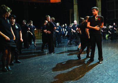 Movement Rehearsal Sydney Opera House