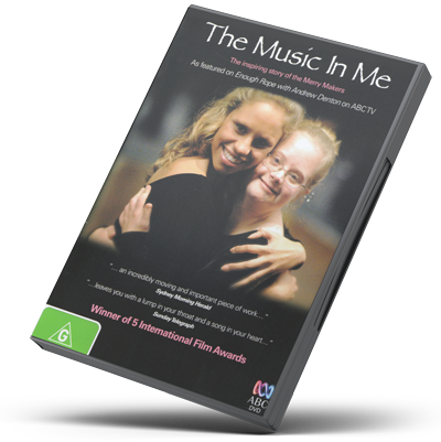 Music In Me DVD
