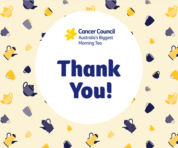 Thank You from the Cancer Council NSW